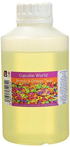 Cupcake World Intensiver AromenWeinbrand und Orangenschuss, 1er Pack (1 x 0.5 l)