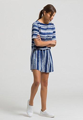 ARMEDANGELS Damen Tencel® Bluse - Leela Sediments - Navy