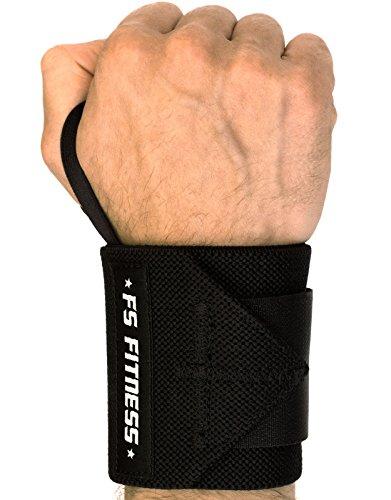 """Handgelenk-Bandage [2er Set] Wrist Wraps - Bandagen für Fitness, Bodybuilding, Crossfit, Gym Work-out, Krafttraining - Profi Länge von 45,7 cm (18"""") - Hochwertige Handgelenkstütze - für Frauen & Männer - Passend für jedes Handgelenk - 2 Jahre Herstellergarantie"""