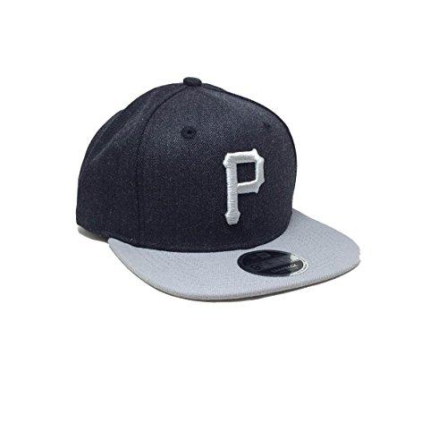 New Era 9fifty Pittsburgh Pirates Herren Kappe Grau
