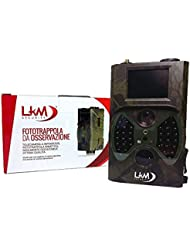 Caméra infrarouge fototrappola lKM Security® GPRS GSM MMS 12mégapixels