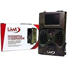 Telecamera Infrarossi Fototrappola LKM Security® GPRS GSM MMS 12