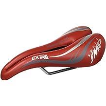Smp Extra - Sillín de bicicleta de montaña, color Rojo