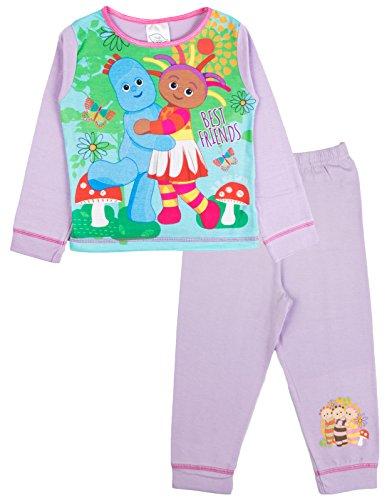 In the night garden, pigiama a due pezzi, per bambini e bambine da 1 a 4 anni iggle piggle / upsy daisy - best friends 3-4 anni