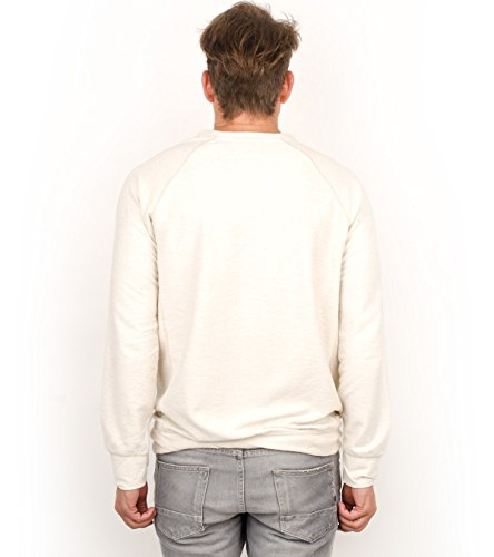Scotch & Soda Pullover Men RAGLAN SHIRT 101538 Grau 8B Ecru Melange