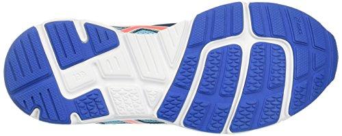 Asics Kinder-Unisex Gel-Zaraca 5 Gs Laufschuhe für Das Training auf Der Straße Türkis (Aquarium/flash Coral/classic Blue)