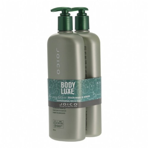 Joico Body Luxe Shampoo & Conditioner 500ml Duo by Joico (English Manual)
