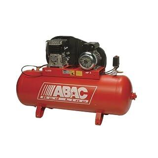 AES T.6501 ABAC Belt Driven Air Compressor, 150 L Receiver, 14 cfm Capacity