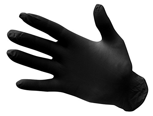 Portwest A925schwarz Nitril Handschuhe, Extra Large, 20 (Nitril-handschuhe Extra Large)