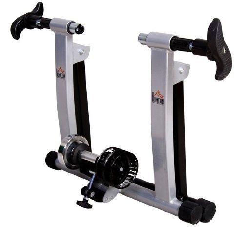 Homcom Rollen/Heim-trainer Fahrrad Rennrad Zubehör NEU, Silber, 5661-0059 -