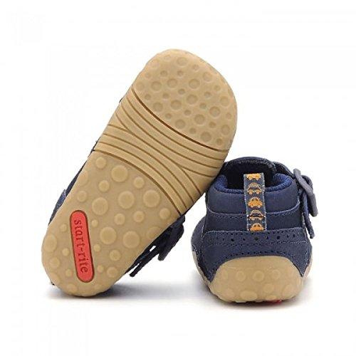 Start Rite Jungen Harry Babyschuhe-Lauflernschuhe Marineblau (Leder)