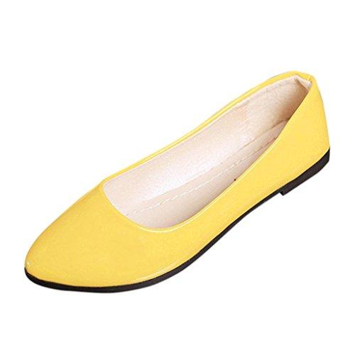 Hunpta , Damen Sport- & Outdoor Sandalen, gelb - gelb - Größe: 39 Braided Wedge Sandal