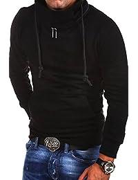MT Styles Sweatshirt Zipped col châle - homme K-104