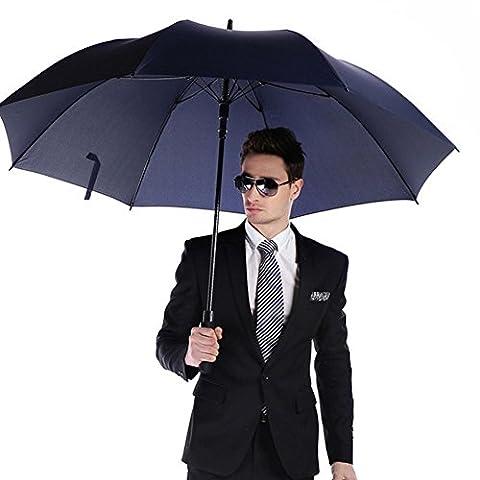 Parapluie de Golf 150 cm - Fibre de Carbone, Étanche au vent, Automatique Ouvert, Grande Taille