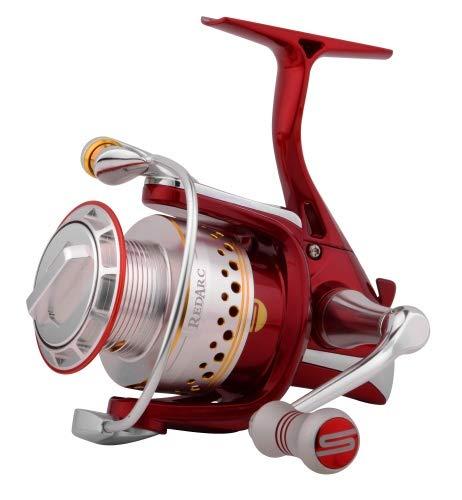 Spro Red Arc 2000 - Stationärrolle zum Spinnangeln auf Zander, Barsche & Forellen, Angelrolle zum Spinnfischen, Spinnrolle -