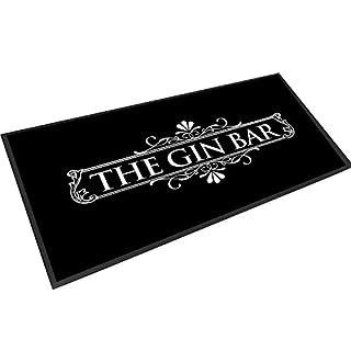Artylicious Gin-Bar, schwarz-weiß-Runner-Matte