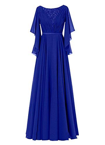 Dresstells, Robe de soirée Robe de cérémonie Robe de mère de la mariée longueur ras du sol Pourpre