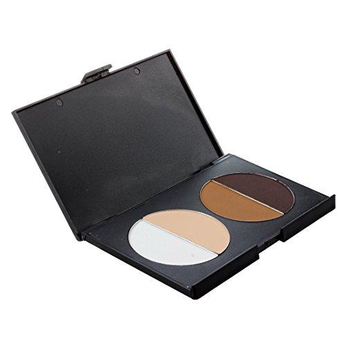 SODIAL(R) Palette Poudre Correcteur Teint Compact 4 Couleurs Maquillage Cosmetique