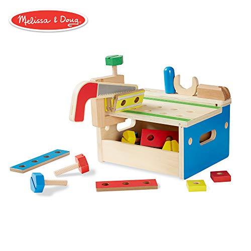 Melissa & Doug - Banco herramientas martillo sierra