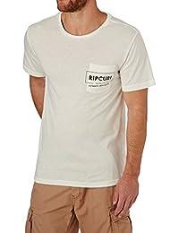 Rip Curl Box Over Pocket, Men Short Sleeve T-Shirt, Men's, 69-CTEAC5