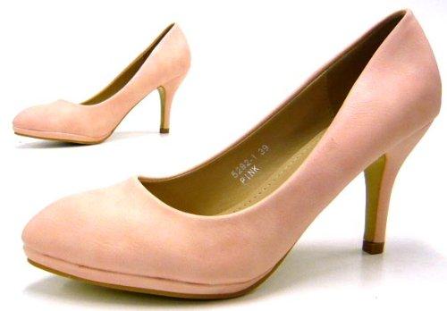 Damen Schuhe Klassische Damen Pumps Pink