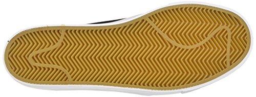 Nike SB Zoom Stefan Janoski High Tape, Scarpe da Skateboard Uomo Nero (Black/dark Grey-metallic Gold-white)