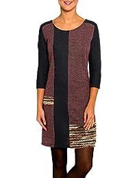 Robe femme manches 3/4 - Robe femme de couleur  - Mod:LLEIDA