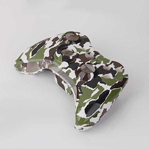 Preisvergleich Produktbild Generic Voll Schutzhülle Für Xbox 360 Wireless Controller - Camo Grün
