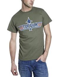 Trademark Top Gun Logo Printed Mens T-Shirt