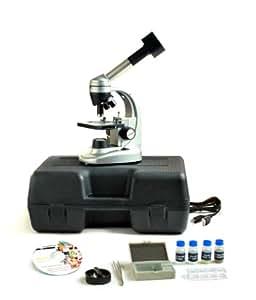 """'levenhuk–Art di Nr. 66798–levenhuk d50l NG–""""garanzia a vita–Microscopio digitale per formazione–Peso: 3,5kg–per Top-quality forschungen–REGISTRAZIONE DI foto e video der mikr oskop ierten campioni possibile–Collegamento al PC–Cavo Micro USB incluso–Ingrandimento: 40–1280X Fach–oculari: WF10X/wf16X–Obiettivi: 4X/10X/40X–Include 1X Set di pulizia–include 2X tasche del microscopio (100X di ingrandimento)–Gratis di nel prezzo di vendita consigliato di valore di 47,00Euro"""