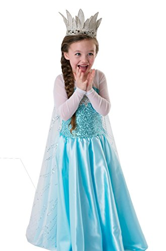 Missfox Halloween Mädchen-Kleidung Gefrorenes 140 cm Klage als (Halloween Elsa Gefrorene Kostüme)