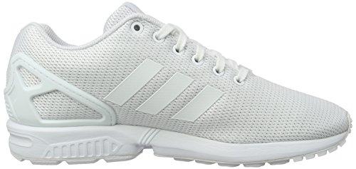adidas Zx Flux, Scarpe da Corsa Unisex – Adulto Bianco (Ftwr White/Clear Grey)