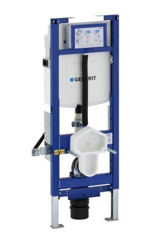 Geberit 111396005 Duofix Montageelement Wand-WC 112 cm mit UP-Spülkasten UP 320, ø 90/90 mm