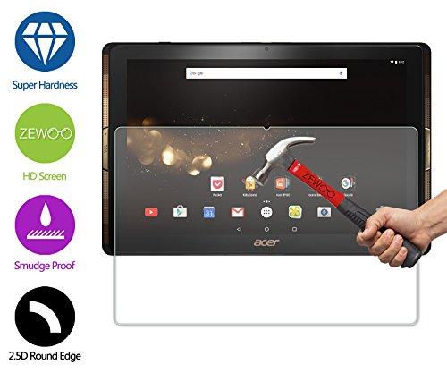 ZeWoo Für Acer Iconia Tab 10 A3-A40 (10,1 Zoll) Displayschutzfolie Glas Schutzfolie Panzerfolie 9H *2.5D, nur 0,33mm dünn (Protector Iconia Acer Screen)