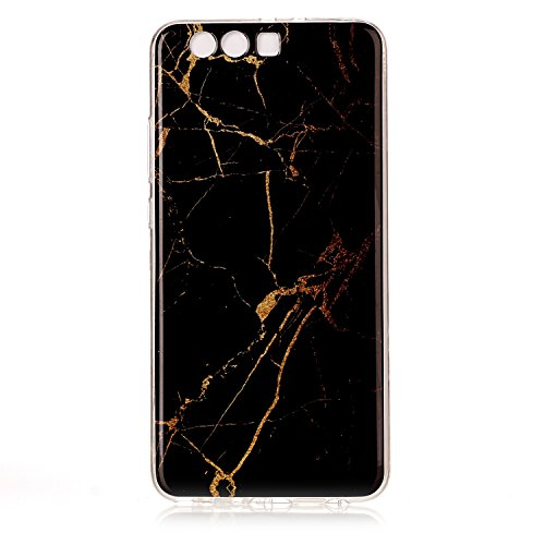 Huawei P10 Plus Case, Huawei P10 Plus Marble Case, BONROY® TPU Soft Slim-Fit Ultra-Thin Case Bumper Anti-Scratch Shock Proof Rubber Silicone Skin Cover for Huawei P10 Plus