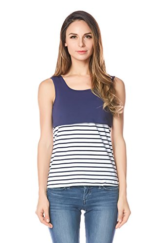 Bearsland Women's Breastfeeding and Nursing Tank Top and Cami Shirt Test