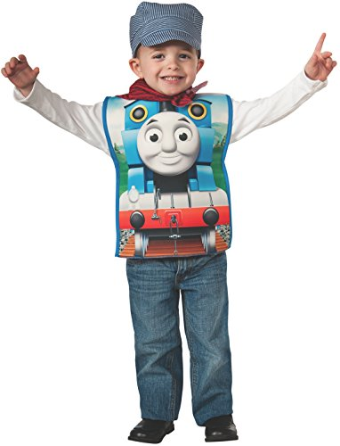 Rubies Thomas and Friends, Thomas The Tank Engine Costume, Child Small by Rubie's (Das Thomas Tank-kostüm)
