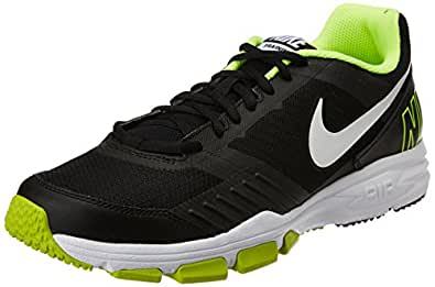Nike Men's Air One Tr 2 Black,White,Volt  Outdoor Multisport Training Shoes -11 UK/India (46 EU)(12 US)