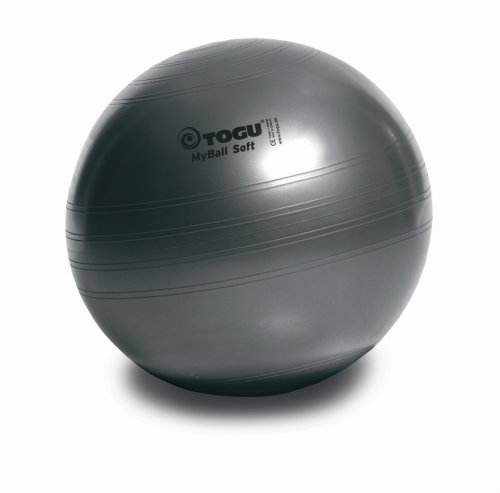 Togu Gymnastikball My-Ball Soft, anthrazit, 65 cm, 418655