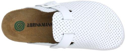 Dr. Brinkmann 600251, Mules femme Blanc (Weiß 3)