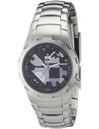 Quiksilver Y034BF 2T DBLK - Reloj analógico infantil de cuarzo con correa de acero inoxidable negra