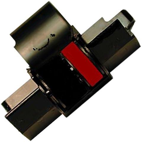 Rodillo de tinta para Canon CP 13–Negro/Rojo de rodillo para CP13–Talla 745Farbbandfabrik