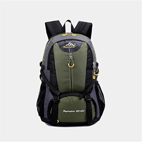 Wmshpeds Alpinismo sacchetto esterno maschio borsa da viaggio ampia capacità borsa per computer moda femminile casual gli studenti nello zaino F