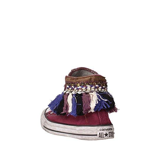Converse 1C16FA10 Sneakers Femme Bordeaux/Marron