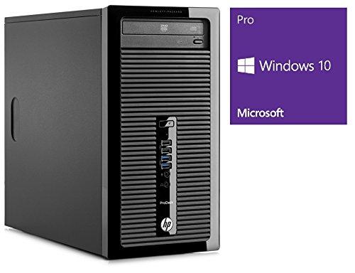 Preisvergleich Produktbild HP ProDesk 400 G2 MT / Büro Computer / Internet PC / Intel Core i5-4690S @ 3, 2 GHz / 4GB DDR3 RAM / 1000GB HDD / DVD-Brenner / Windows 10 Pro vorinstalliert (Zertifiziert und Generalüberholt)