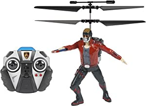 World Tech Toys - Marvel Heroes 2 ch Starlord Guardians of The Galaxy IR helicóptero, 34874