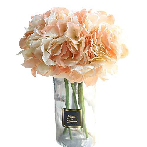 Fiori finti,centrotavola matrimonio fiori artificiali bouquet fiori giganti ortensia composizioni floreali nozze decorazioni per casa cucina giardino festa