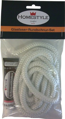 Unimet Dichtschnur-Set, 2 Stück, weiß, UM392844