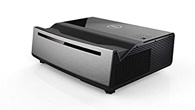 Dell Advanced 4K UHD Laser Projector S718QL - 5000 lumens, 4K UHD (3840 x 2160) Ultra-Short Throw-Black/Grey
