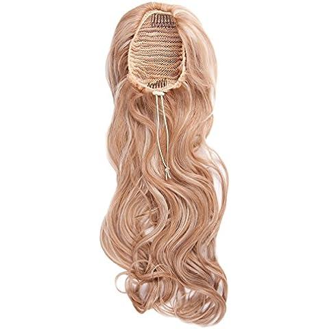 Belleza funciona volumen glamour peluca rizada 3/4 colores surtidos Doble
